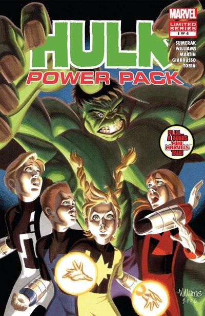 Hulk and Power Pack #1 – 4 (2007)