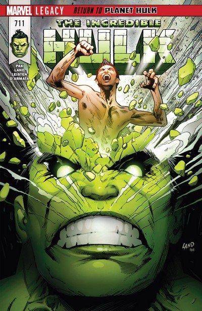 Incredible Hulk #711 (2017)