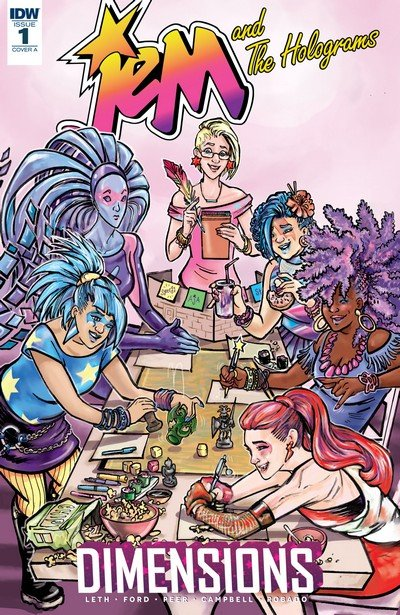 Jem and the Holograms – Dimensions #1 (2017)