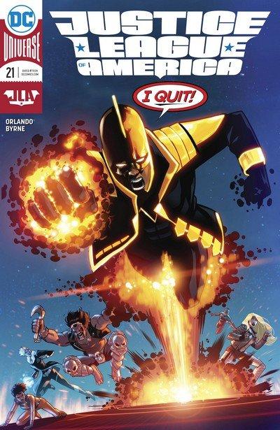 Justice League of America #21 (2018)