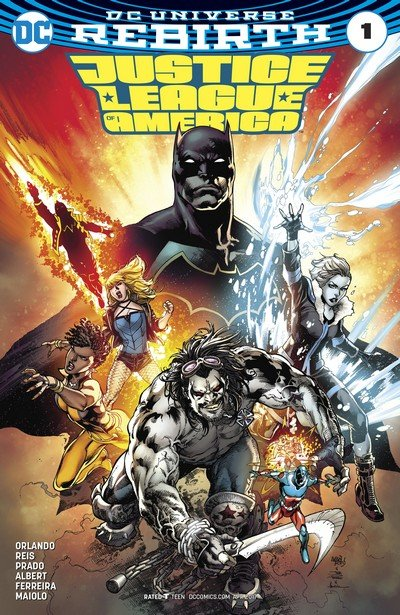 Justice League of America – Rebirth #1 + #1 – 29 (2017-2018)
