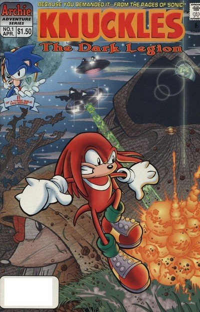 Knuckles The Echidna #1 – 32 (1997-2000)