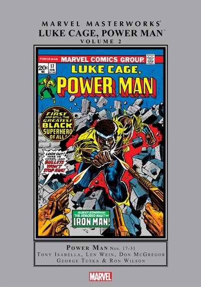 Marvel Masterworks – Luke Cage, Power Man Vol. 2 (2017)