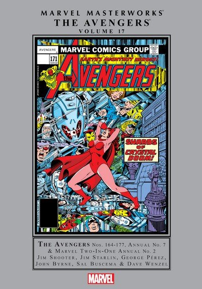 Marvel Masterworks – The Avengers Vol. 17 (2015)