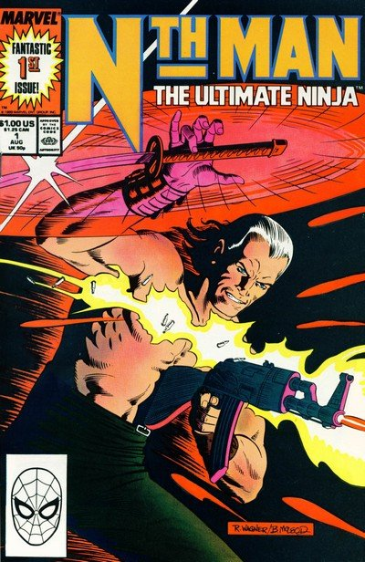 Nth Man – The Ultimate Ninja #1 – 16 (1989-1990)