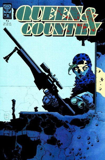 Queen & Country #1 – 32 + TPB Vol. 1 – 8 + Declassified (2001-2014)