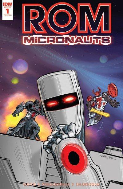 ROM & the Micronauts #1 (2017)