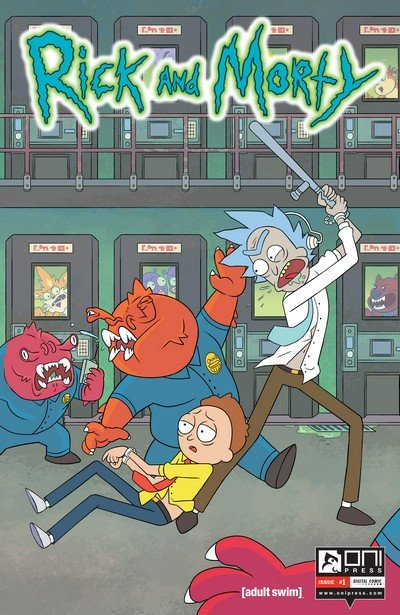 Rick and Morty #1 – 32 + TPB Vol. 1 – 5 (2015-2017)