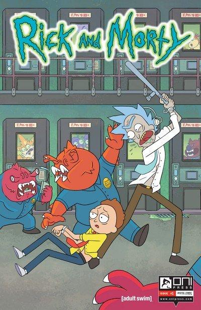Rick and Morty #1 – 32 + TPB Vol. 1 – 5 (2015-2017)
