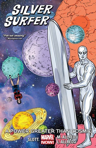 Silver Surfer Vol. 5 – A Power Greater Than Cosmic (TPB) (2017)