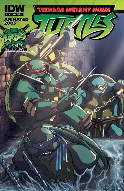 Teenage Mutant Ninja Turtles – Animated 2003 #1 – 7 (2012)