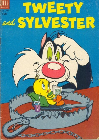 Tweety and Sylvester #1 – 37 (Dell) (1954-1962)
