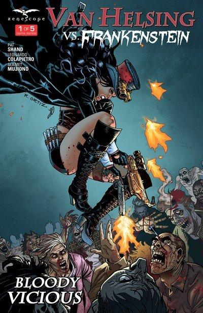 Van Helsing vs Frankenstein #1 – 5 (2016-2017)