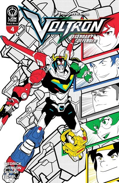 Voltron – Legendary Defender Vol. 2 #4 (2017)