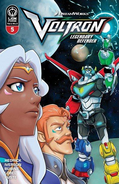 Voltron – Legendary Defender Vol. 2 #5 (2017)
