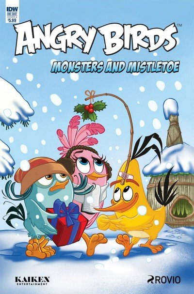 Angry Birds Comics Quarterly – Monsters and Mistletoe (2017)