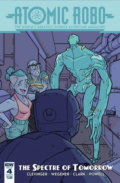 Atomic Robo And The Spectre Of Tomorrow #4 (2018)