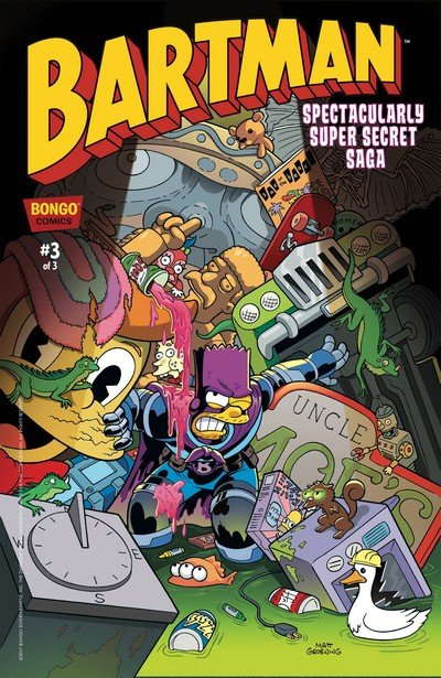 Bartman Spectacularly Super Secret Saga #3 (2017)