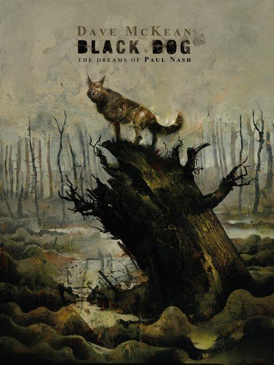 Black Dog – The Dreams of Paul Nash (TPB) (2016)