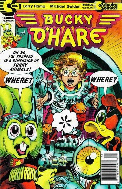 Bucky O'Hare #1 – 5 + GN (1991-1992)