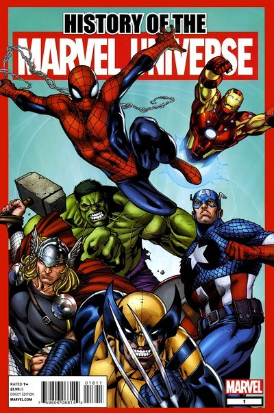 History of the Marvel Universe #1 (2011)