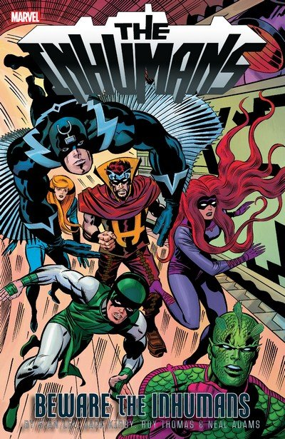 Inhumans – Beware the Inhumans (TPB) (2018)