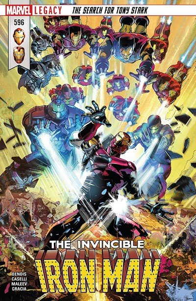 Invincible Iron Man #596 (2018)