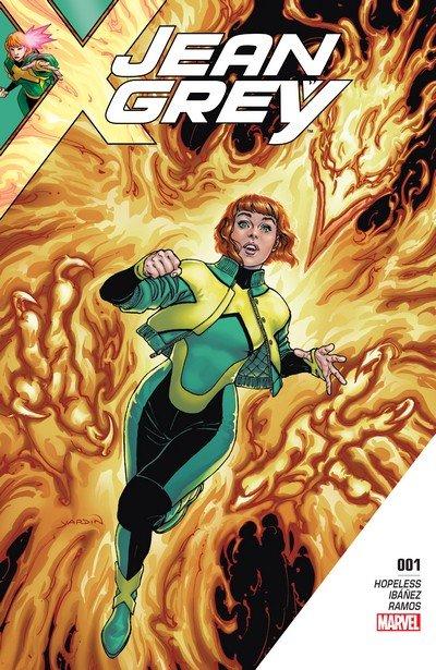 Jean Grey #1 – 11 + TPB Vol. 1 (2017-2018)