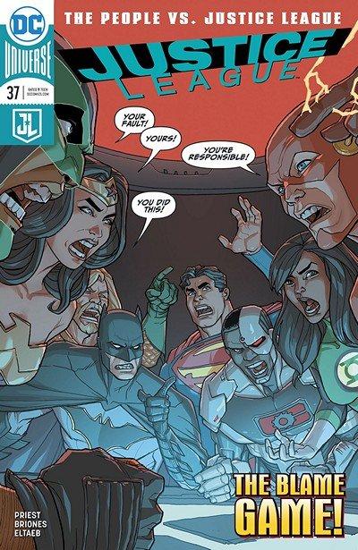 Justice League #37 (2018)