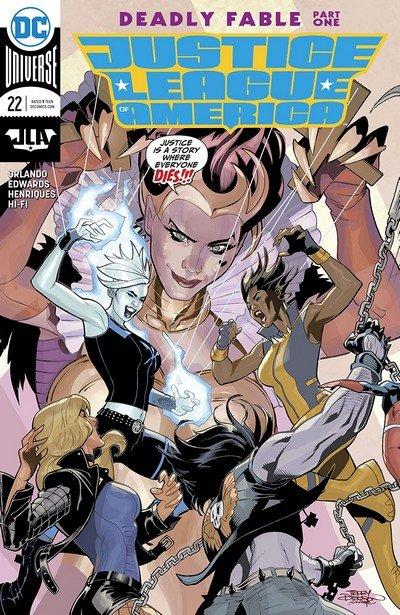Justice League Of America #22 (2018)