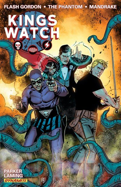 Kings Watch Vol. 1 – Flash Gordon, The Phantom, Mandrake the Magician (2014)