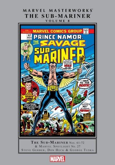 Marvel Masterworks Sub-Mariner Vol. 8 (TPB) (2017)
