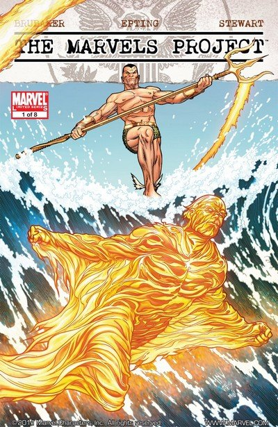Marvels Project #1 – 8 (2009-2010)