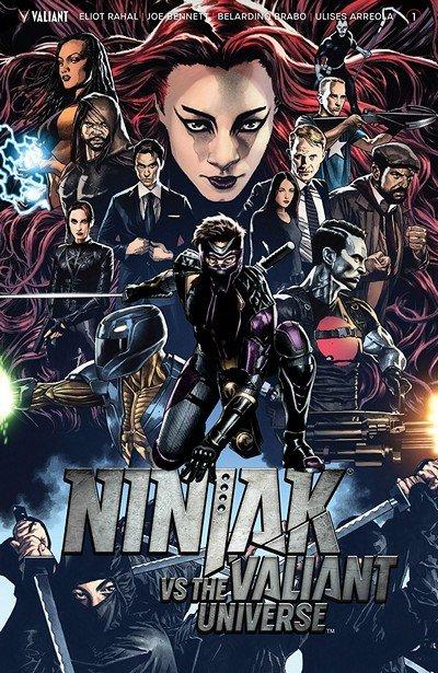 Ninjak vs. The Valiant Universe #1 (2018)