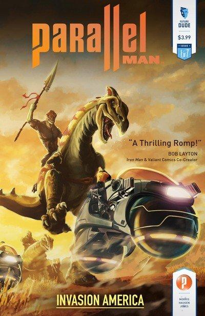 Parallel Man – Invasion America #1 – 7 (2014-2015)