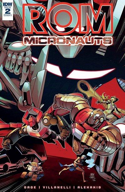 Rom & The Micronauts #2 (2018)