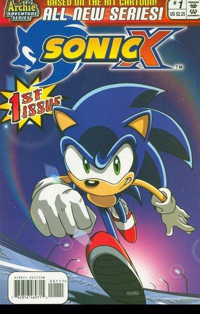 Sonic X #1 – 40 (2005-2009)