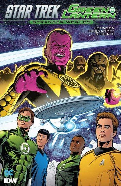 Star Trek – Green Lantern Vol. 2 – Stranger Worlds (TPB) (2017)