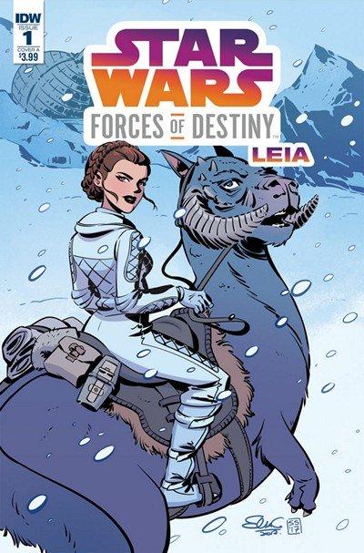 Star Wars Adventures – Forces Of Destiny-Princess Leia #1 (2018)