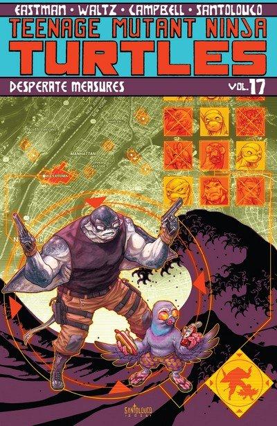 Teenage Mutant Ninja Turtles Vol. 17 – Desperate Measures (TPB) (2017)