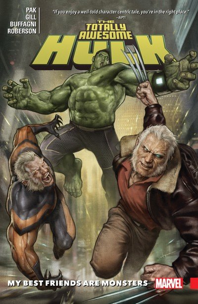 The Totally Awesome Hulk Vol. 4 – My Best Friends Are Monsters (TPB) (2017)