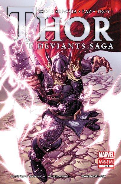 Thor – The Deviants Saga #1 – 5 (2012)