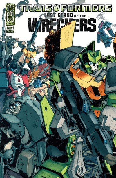 Transformers – Last Stand of the Wreckers #1 – 5 + TPB (2010-2011)