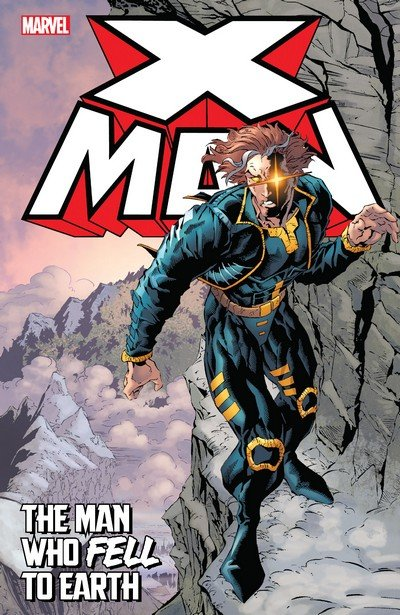 X-Man – The Man Who Fell To Earth (TPB) (2016)