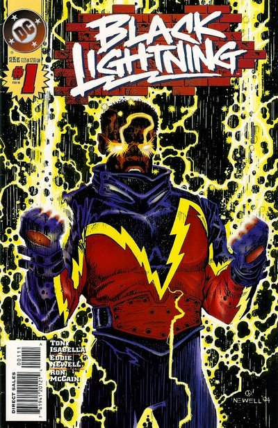 Black Lightning Vol. 2 #1 – 13 (1995-1996)