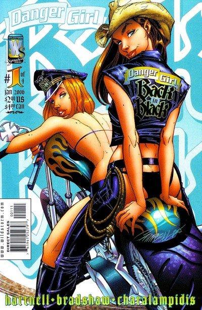 Danger Girl – Back in Black #1 – 4 (2006)
