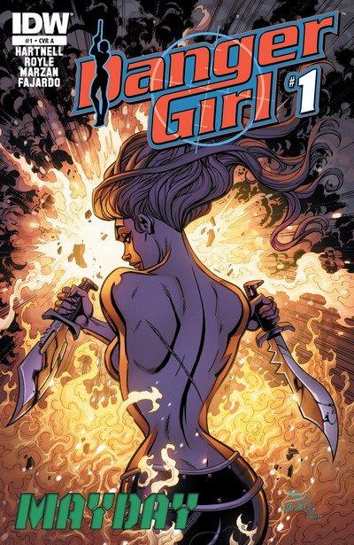 Danger Girl – Mayday #1 – 4 + TPB (2014)