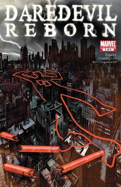 Daredevil – Reborn #1 – 4 (2011)