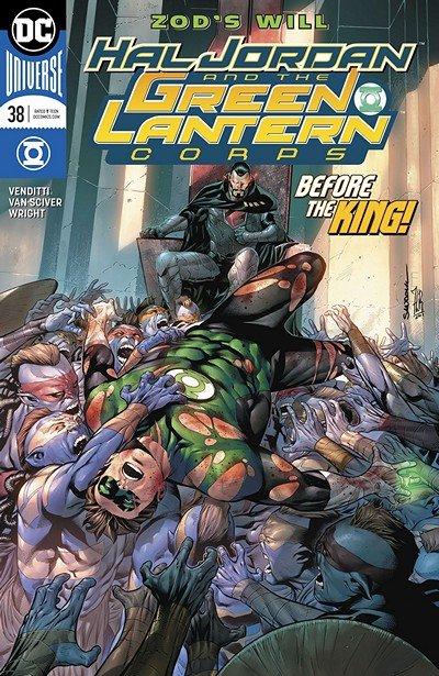 Hal Jordan And The Green Lantern Corps #38 (2018)