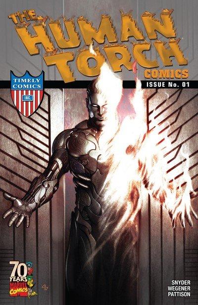 Human Torch Comics 70th Anniversary Special (2009)
